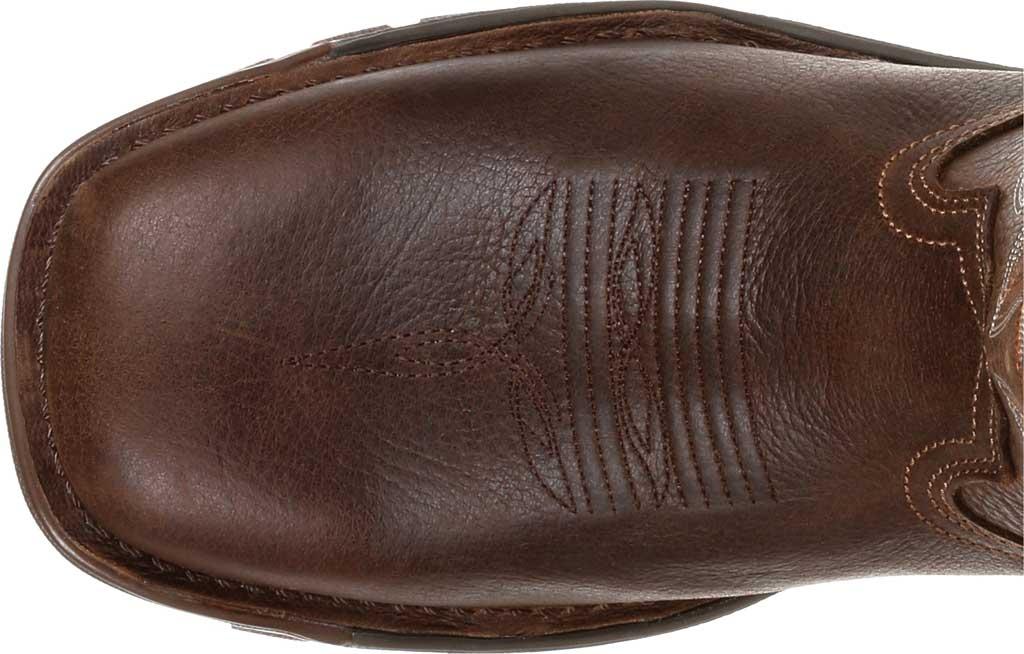 Men's Rocky Legacy 32 Waterproof Western Boot RKW0315, Brown Full Grain Leather, large, image 5