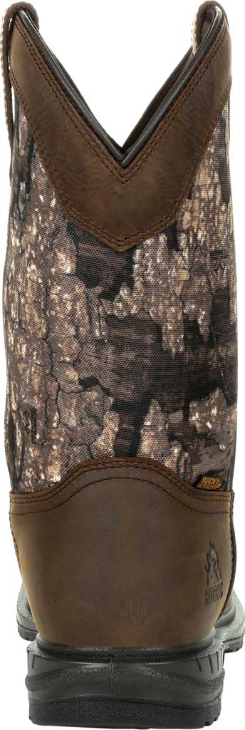 Men's Rocky Worksmart Insulated WP Western Boot RKW0326, Realtree Timber Full Grain Leather, large, image 4