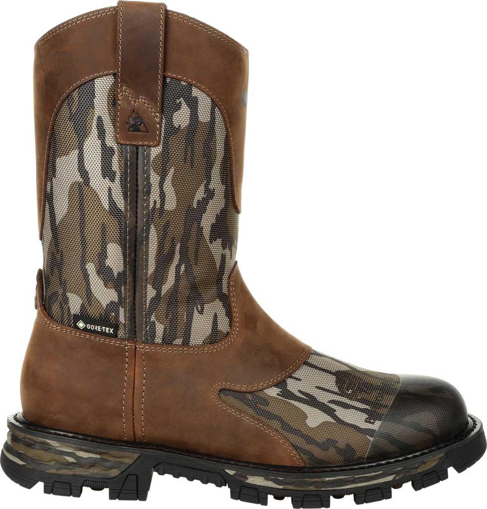 Men's Rocky Cornstalker NXT GTX WP Outdoor Boot RKS0467, Mossy Oak Bottom Land Cordura/Full Grain Leather, large, image 2