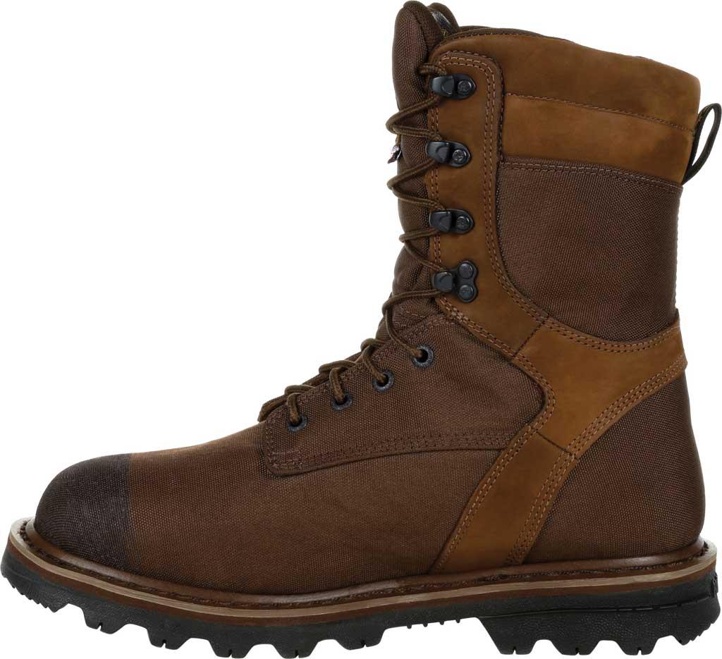 Men's Rocky Stalker Waterproof Insulated Outdoor Boot RKS0499, Brown Cordura/Leather, large, image 3