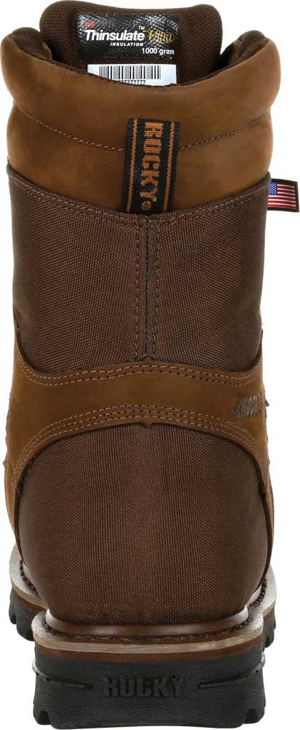 Men's Rocky Stalker Waterproof Insulated Outdoor Boot RKS0499, Brown Cordura/Leather, large, image 4