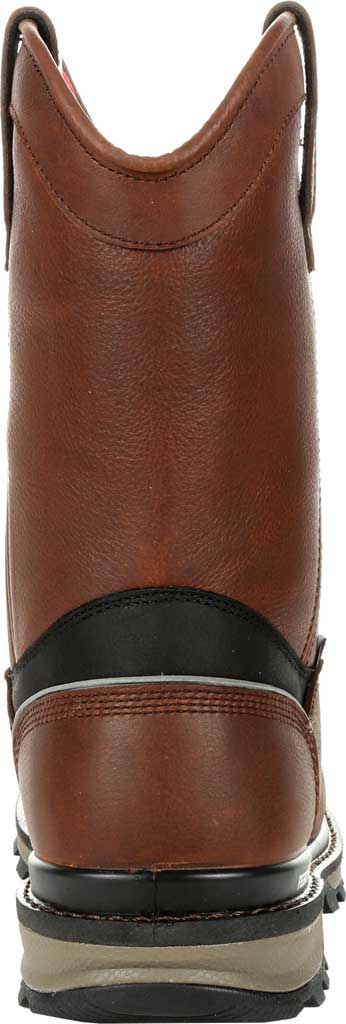 Men's Rocky Rams Horn Insulated WP CT Pull On Boot RKK0306, Dark Brown Full Grain Leather, large, image 4