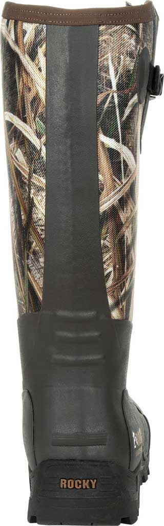 Men's Rocky Sport Pro Pull On Rubber Snake Boot RKS0478, Mossy Oak Shadow Grass Blades Rubber/Neoprene, large, image 4