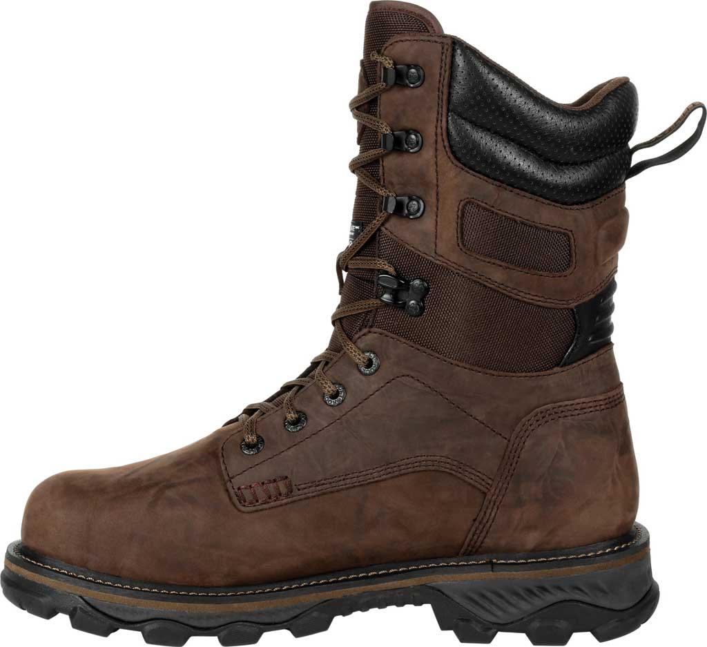 Men's Rocky MTN Stalker WP Insulated Outdoor Boot RKS0473, Bark Brown Full Grain Leather/Nylon, large, image 3