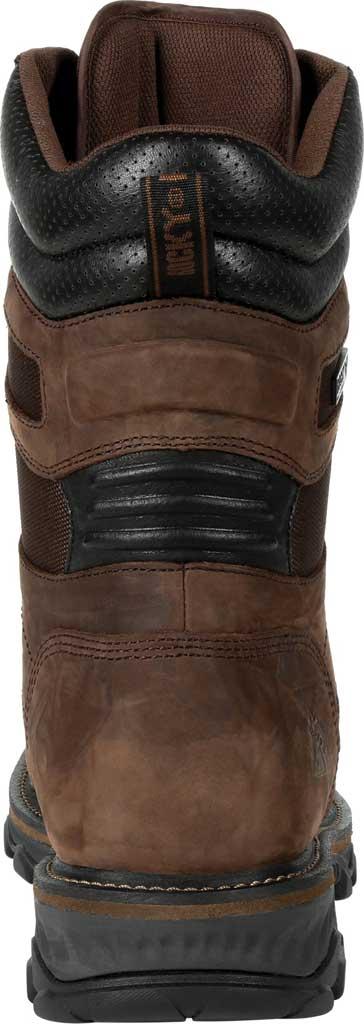 Men's Rocky MTN Stalker WP Insulated Outdoor Boot RKS0473, Bark Brown Full Grain Leather/Nylon, large, image 4