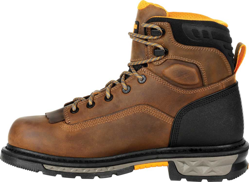 Men's Georgia Boot GB00390 Carbo-Tec LTX Waterproof Work Boot, Black/Brown Full Grain Leather, large, image 3