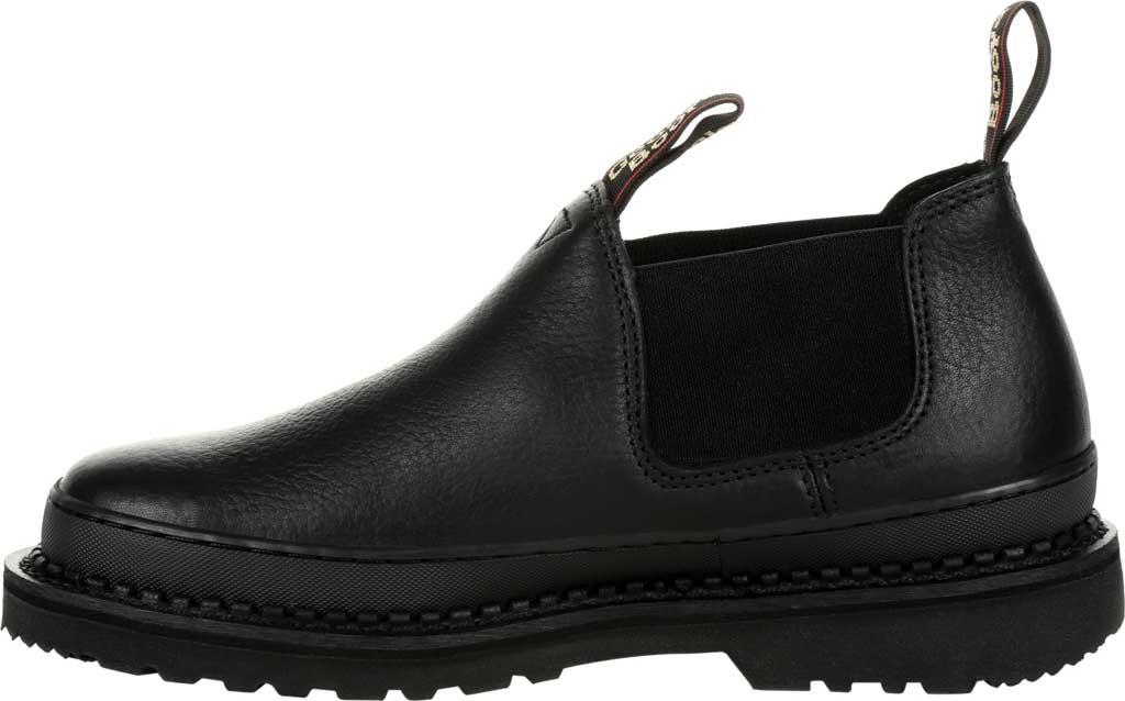 Men's Georgia Boot GB00384 Georgia Giant Revamp Romeo Work Shoe, Black Full Grain Leather, large, image 3