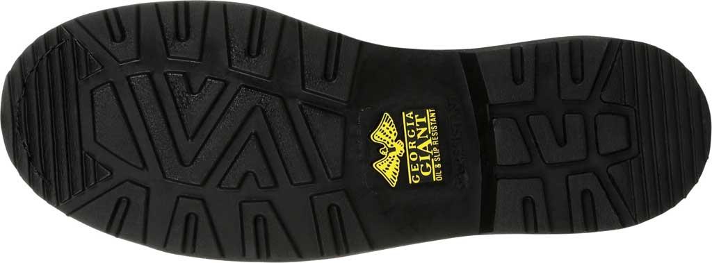 Men's Georgia Boot GB00384 Georgia Giant Revamp Romeo Work Shoe, Black Full Grain Leather, large, image 6