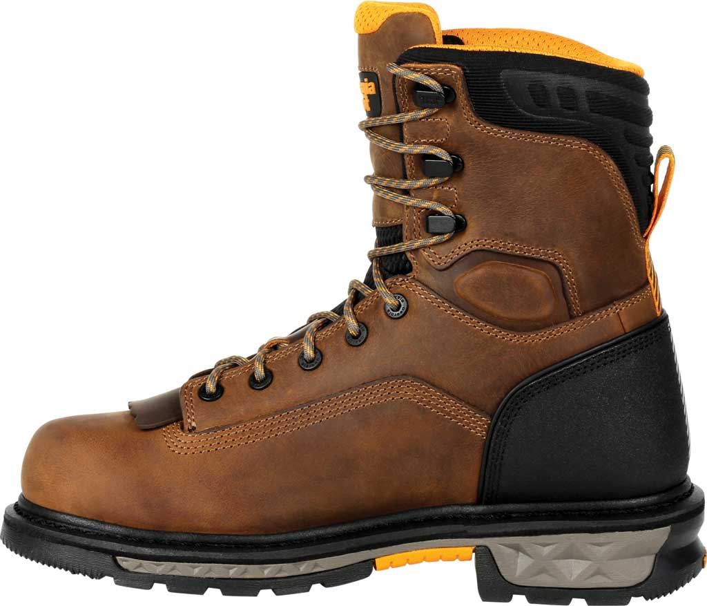 Men's Georgia Boot GB00392 Carbo-Tec LTX Waterproof Work Boot, Black/Brown Full Grain Leather, large, image 3