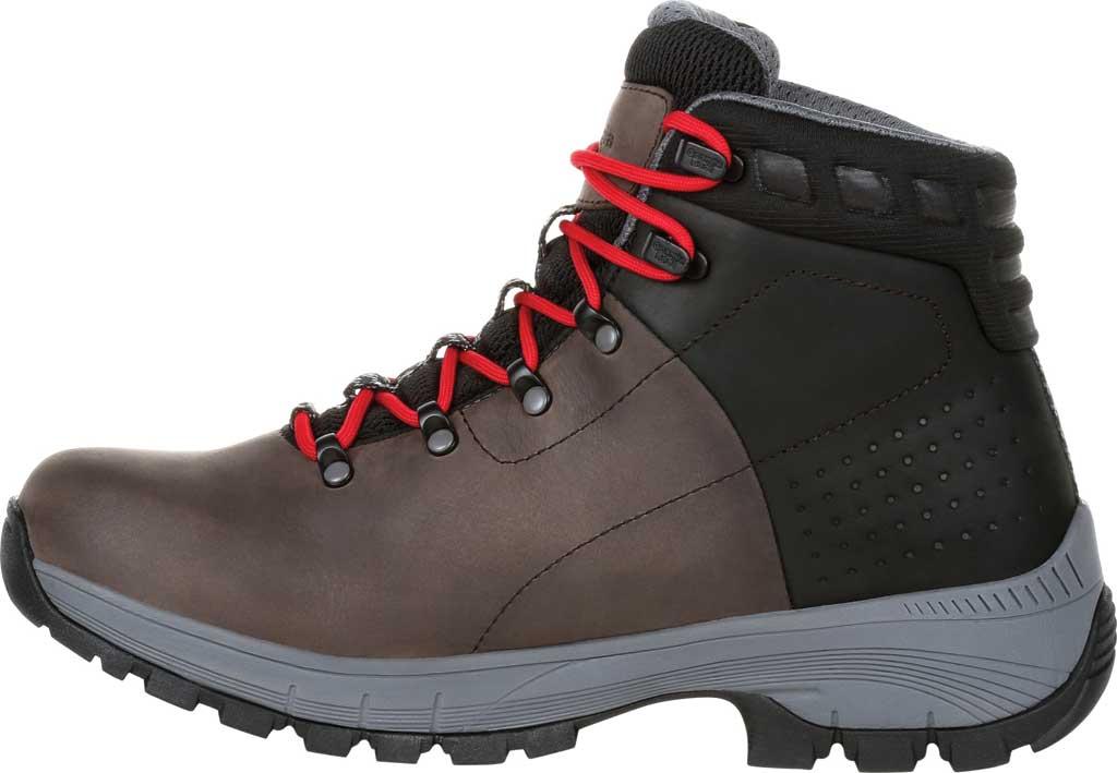 Men's Georgia Boot GB00399 Eagle Trail Waterproof Hiker Work Boot, Black/Charcoal Full Grain Leather, large, image 3