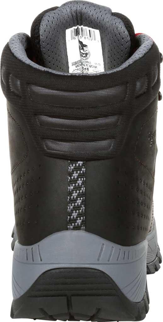 Men's Georgia Boot GB00399 Eagle Trail Waterproof Hiker Work Boot, Black/Charcoal Full Grain Leather, large, image 4