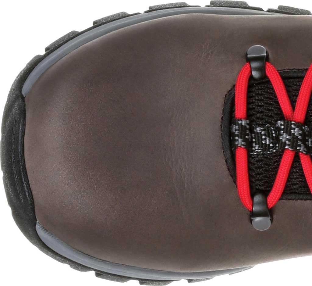 Men's Georgia Boot GB00399 Eagle Trail Waterproof Hiker Work Boot, Black/Charcoal Full Grain Leather, large, image 5