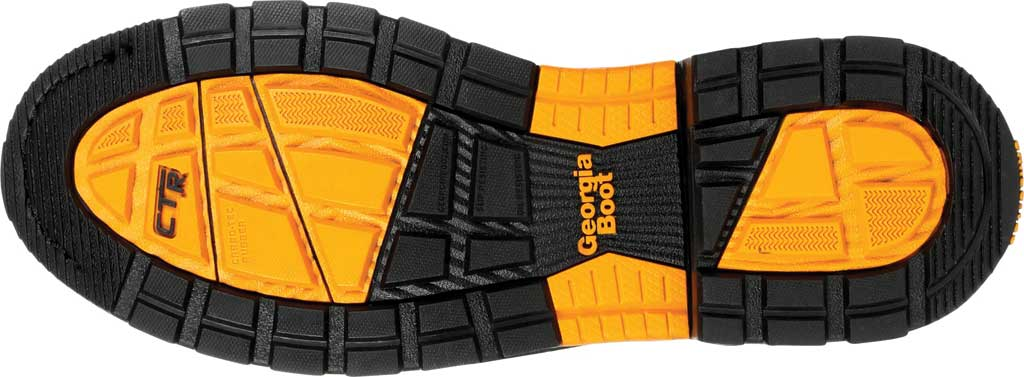 Men's Georgia Boot GB00393 Carbo-Tec LTX Waterproof Pull On Work Boot, Black/Brown Full Grain Leather, large, image 6