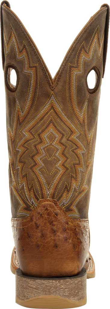 Men's Durango Boot DDB0307 Rebel Pro Full-Quill Ostrich Western Boot, Tobacco Ostrich Quill/Full Grain Leather, large, image 4