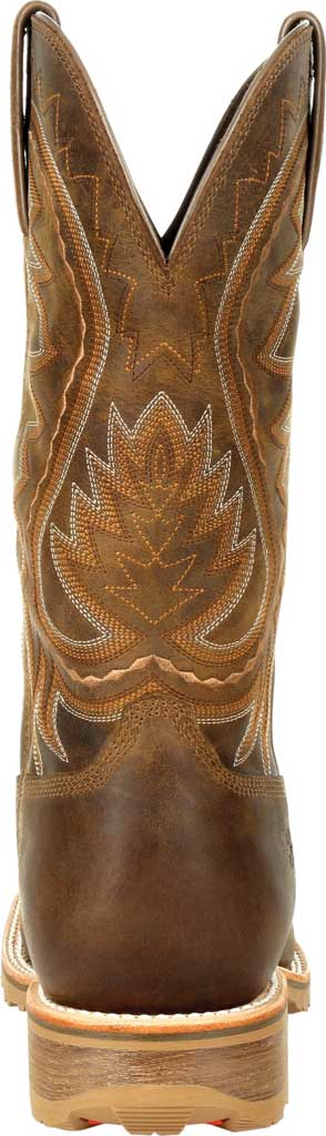 Men's Durango Boot DDB0297 Maverick Pro Steel Toe WP Western Boot, Rugged Tan Full Grain Leather, large, image 4
