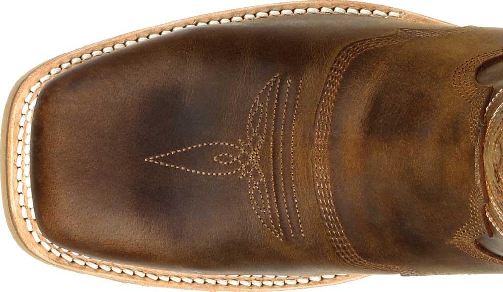 Men's Durango Boot DDB0297 Maverick Pro Steel Toe WP Western Boot, Rugged Tan Full Grain Leather, large, image 5