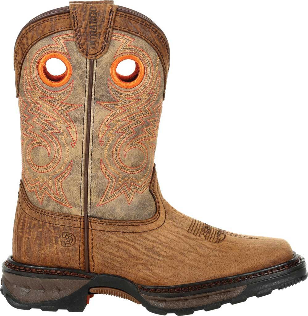 Children's Durango Boot DBT0227Y Lil' Maverick XP Big Kid Western Boot, Burly Brown/Black Synthetic/Full Grain Leather, large, image 2
