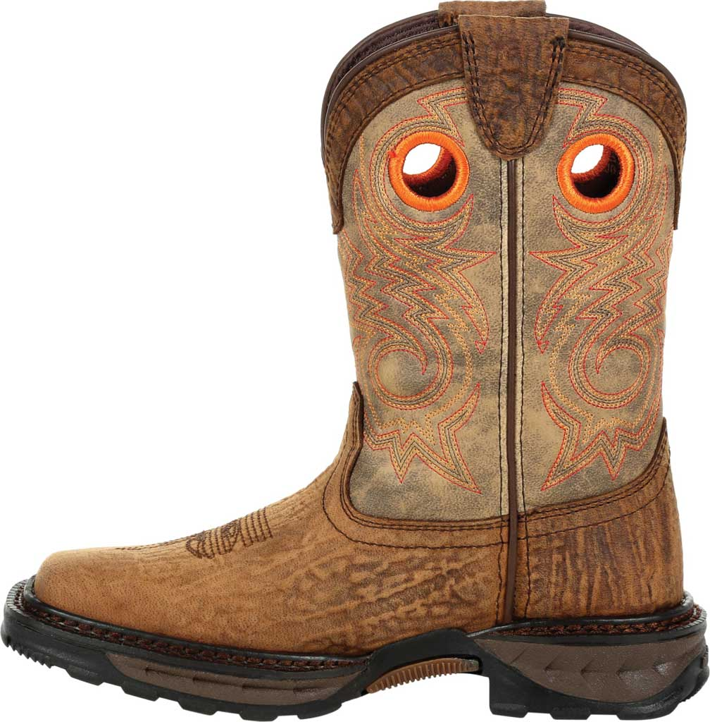 Children's Durango Boot DBT0227Y Lil' Maverick XP Big Kid Western Boot, Burly Brown/Black Synthetic/Full Grain Leather, large, image 3