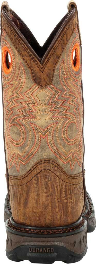 Children's Durango Boot DBT0227Y Lil' Maverick XP Big Kid Western Boot, Burly Brown/Black Synthetic/Full Grain Leather, large, image 4