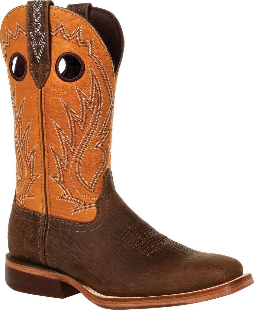 Men's Durango Boot DDB0311 Arena Pro XRT Western Boot, Acorn/Inca Gold Full Grain Leather, large, image 1
