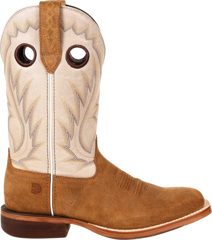 Men's Durango Boot DDB0309 Arena Pro XRT Western Boot, Coffee/Bone Full Grain Leather, large, image 2