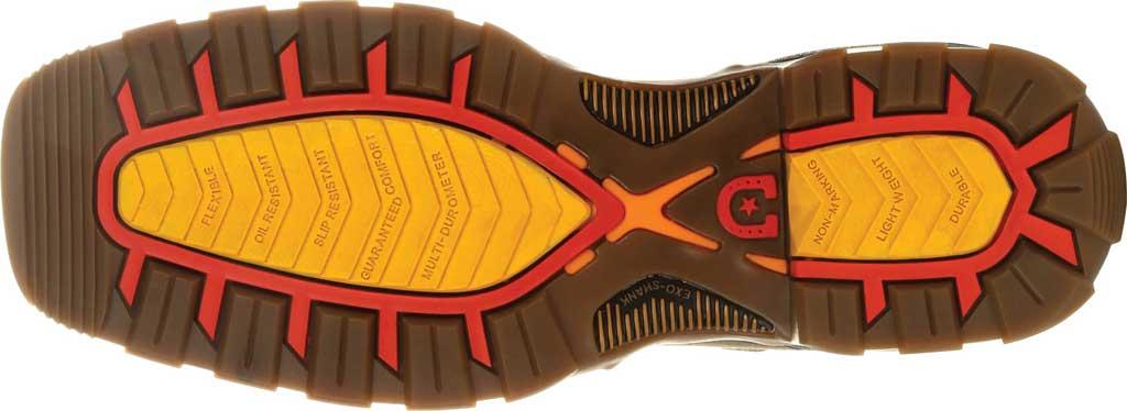 Men's Durango Boot DDB0302 Maverick XP Waterproof Western Work Boot, Chocolate/White Full Grain Leather, large, image 4