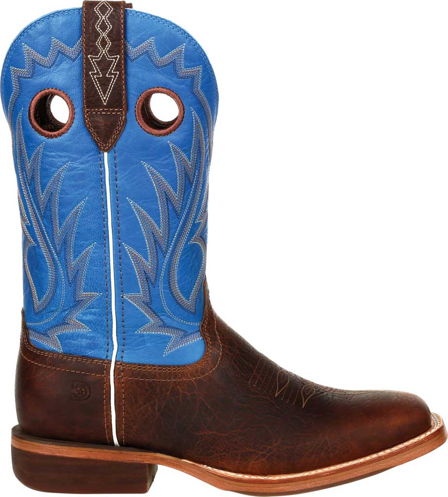 Men's Durango Boot DDB0310 Arena Pro XRT Western Boot, Bay Brown/Brilliant Blue Full Grain Leather, large, image 2