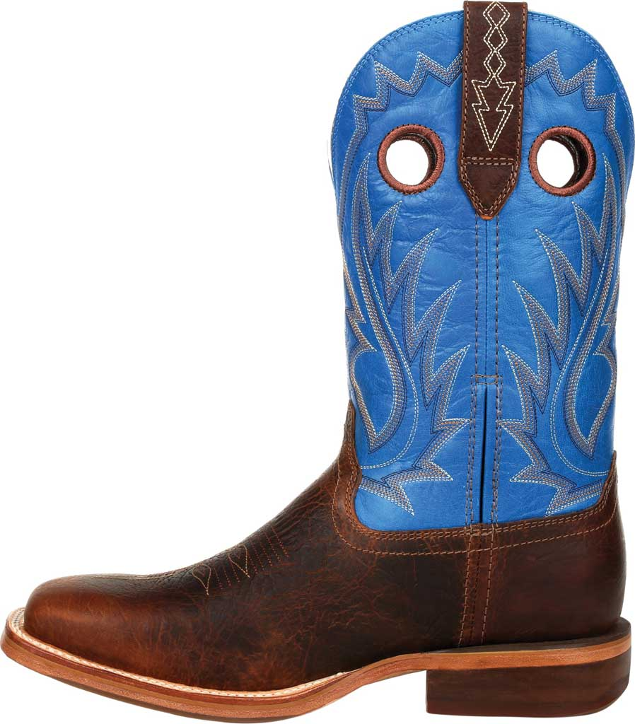 Men's Durango Boot DDB0310 Arena Pro XRT Western Boot, Bay Brown/Brilliant Blue Full Grain Leather, large, image 3