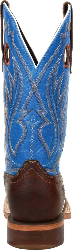 Men's Durango Boot DDB0310 Arena Pro XRT Western Boot, Bay Brown/Brilliant Blue Full Grain Leather, large, image 4