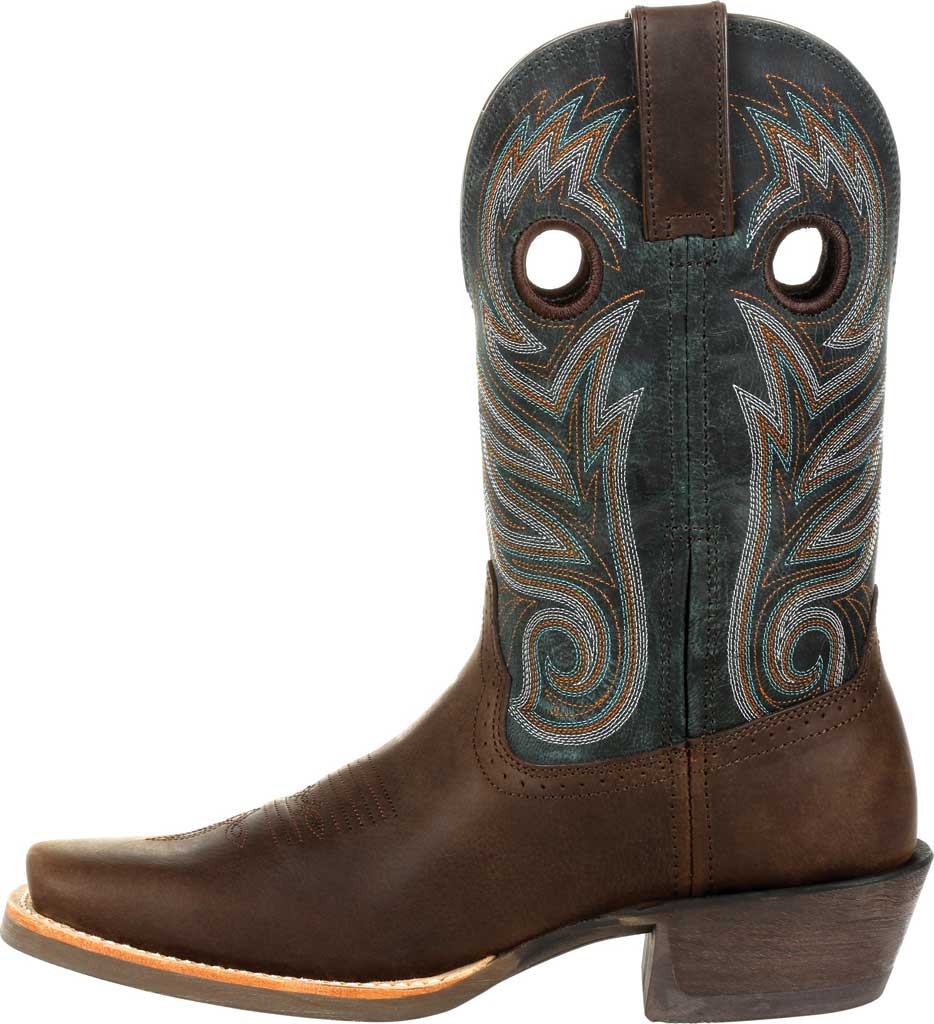 Men's Durango Boot DDB0295 Rebel Pro Western Boot, Bay Brown/Classic Teal Full Grain Leather, large, image 3
