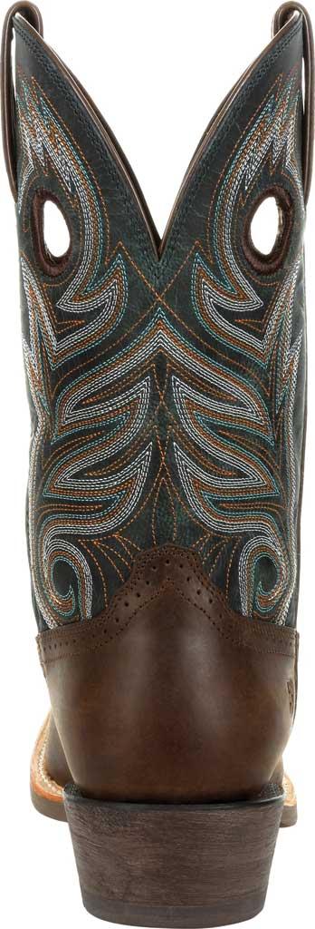 Men's Durango Boot DDB0295 Rebel Pro Western Boot, Bay Brown/Classic Teal Full Grain Leather, large, image 4
