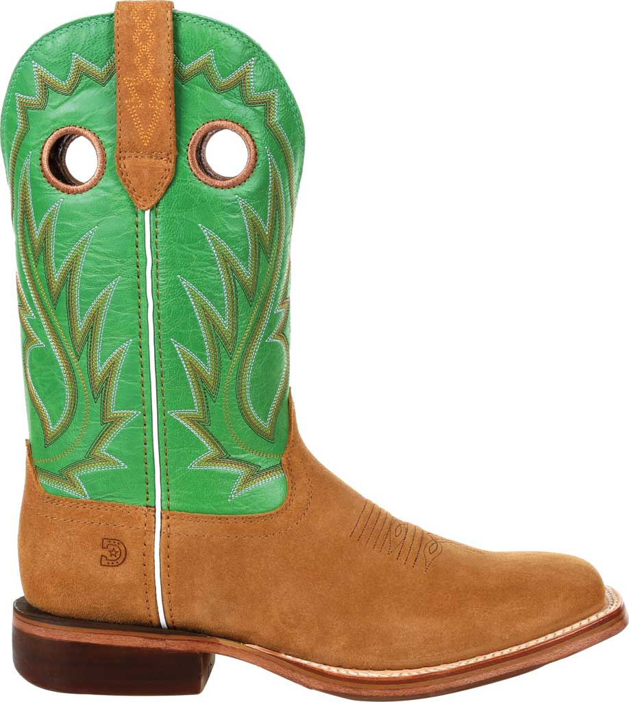 Men's Durango Boot DDB0315 Arena Pro XRT Western Boot, Cashew/Kelly Green Full Grain Leather, large, image 2