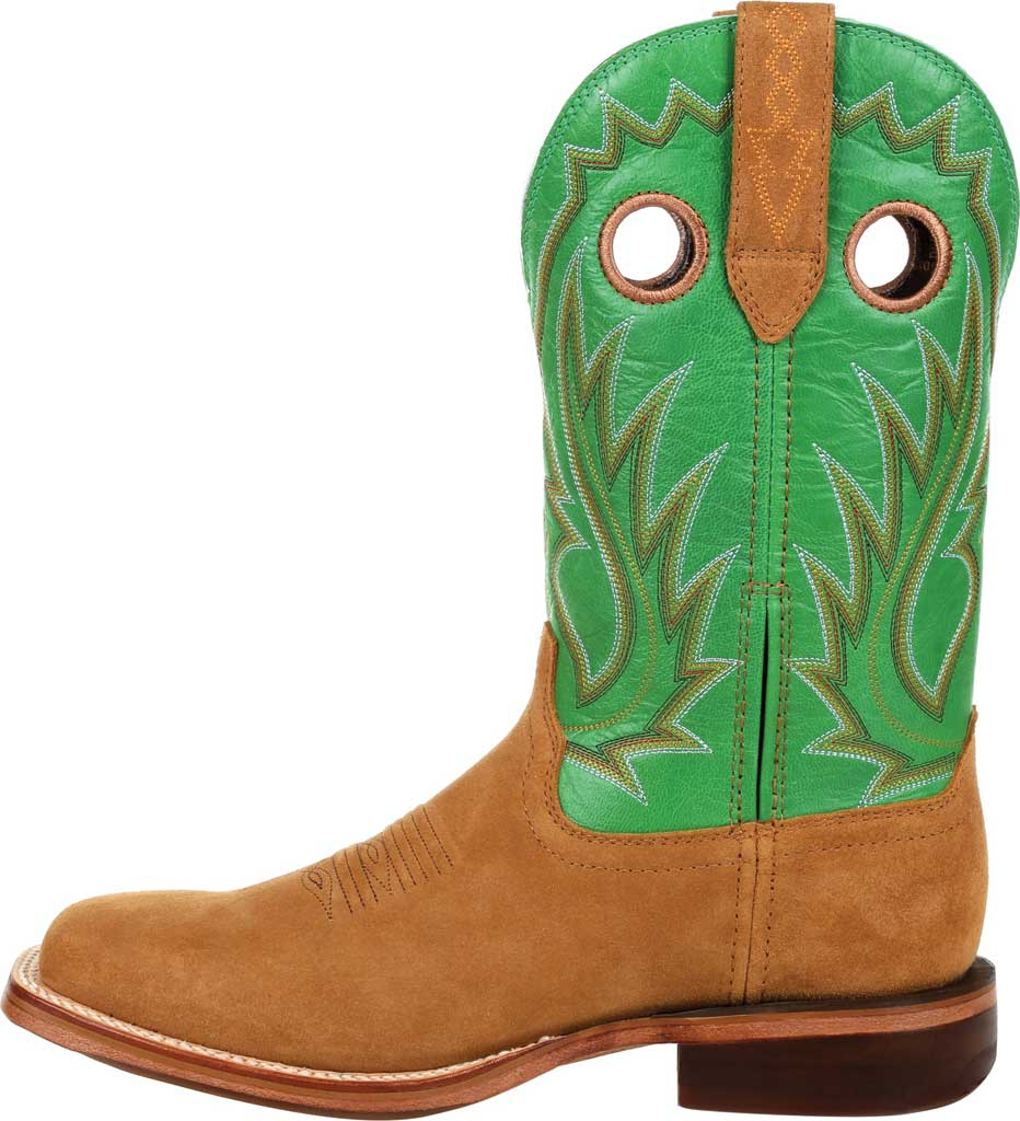 Men's Durango Boot DDB0315 Arena Pro XRT Western Boot, Cashew/Kelly Green Full Grain Leather, large, image 3