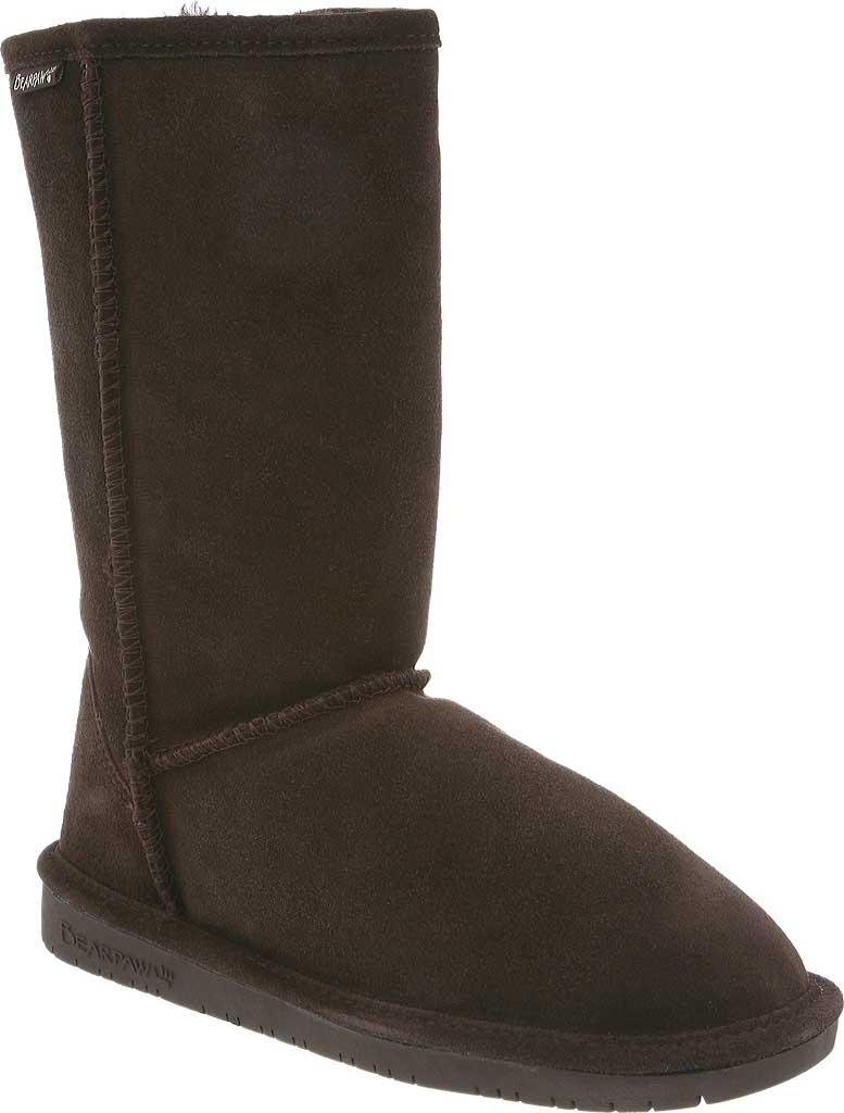Women's Bearpaw Emma Tall Boot, Chocolate, large, image 1