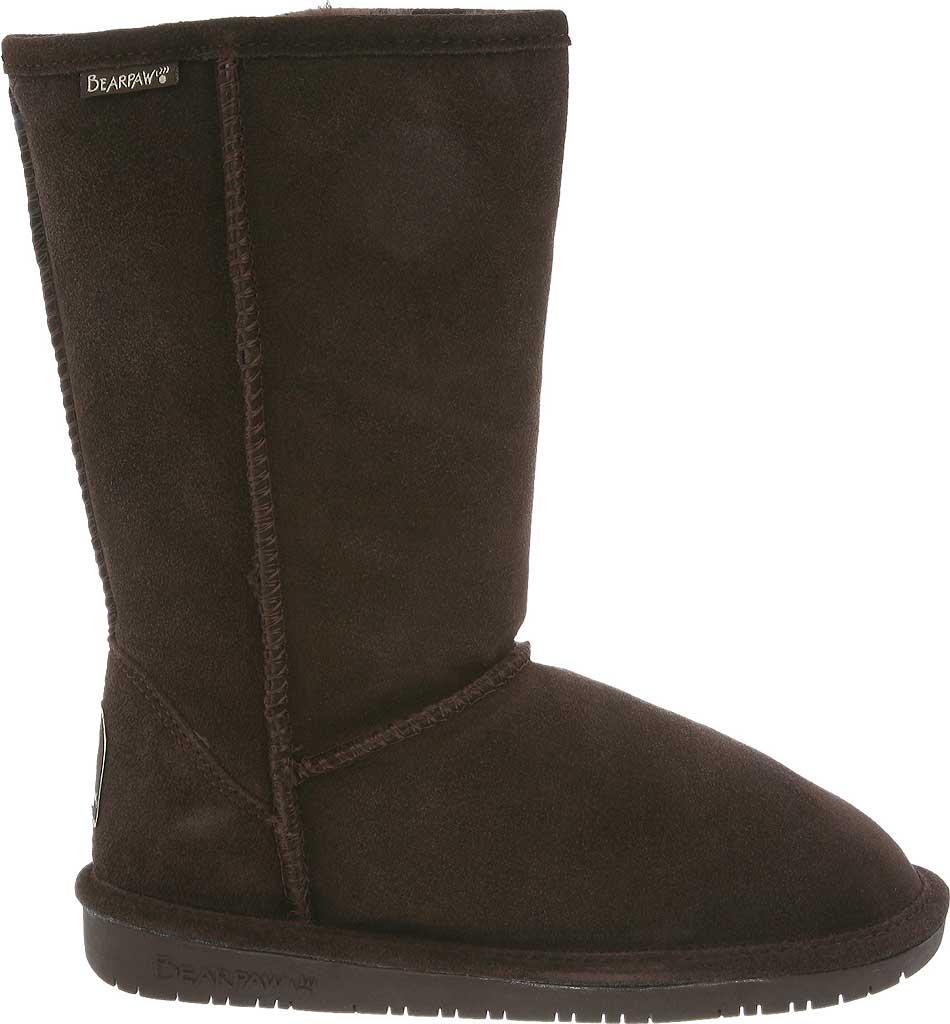 Women's Bearpaw Emma Tall Boot, Chocolate, large, image 2