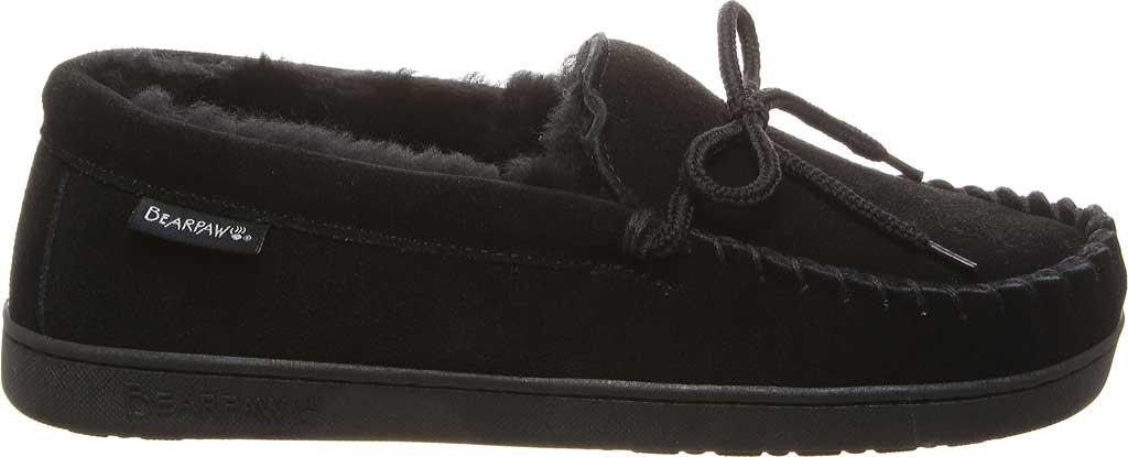 Men's Bearpaw Moc II, Black, large, image 2