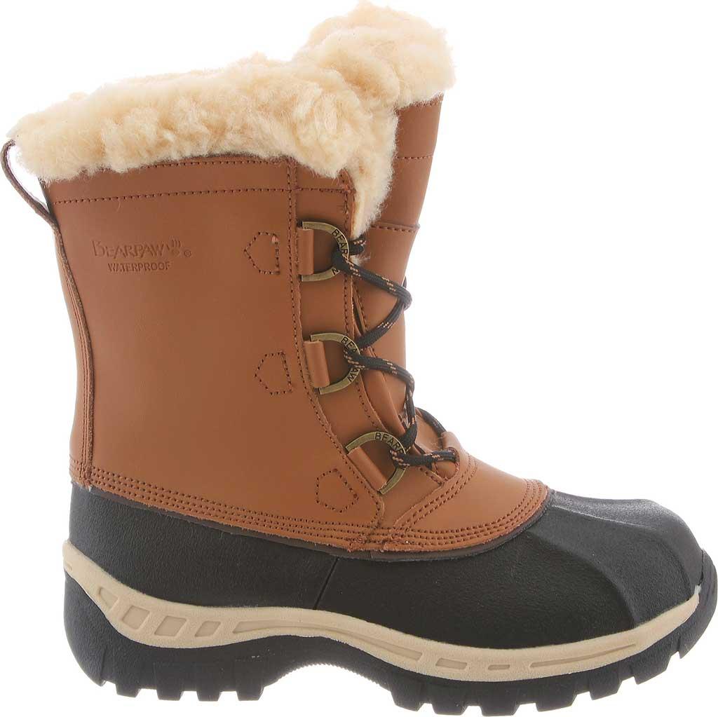 Girls' Bearpaw Kelly Youth Boot, Hickory II, large, image 2
