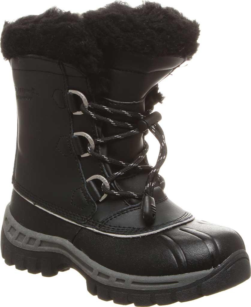 Girls' Bearpaw Kelly Youth Boot, Black/Grey, large, image 1