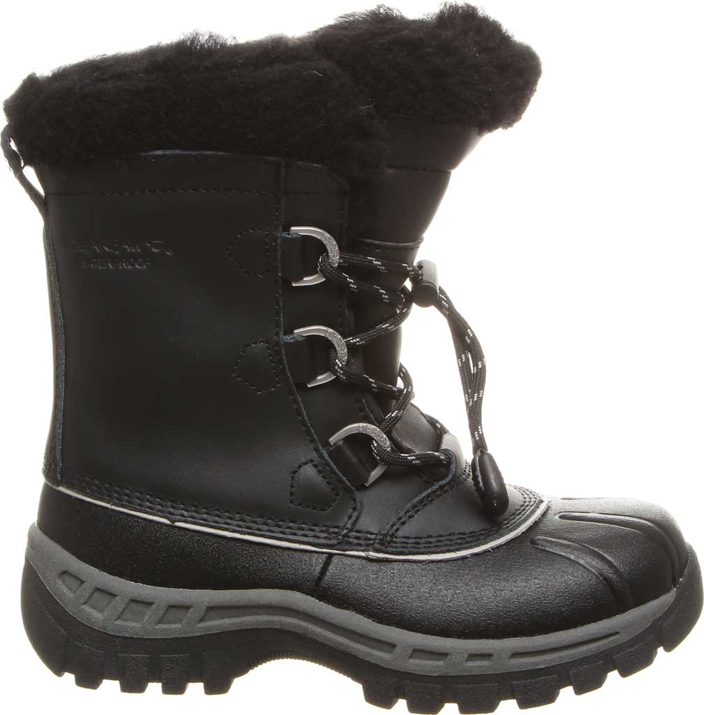 Girls' Bearpaw Kelly Youth Boot, Black/Grey, large, image 2