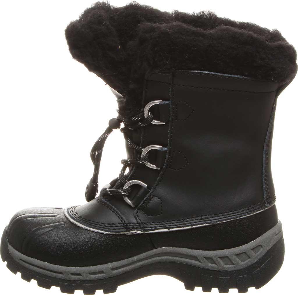Girls' Bearpaw Kelly Youth Boot, Black/Grey, large, image 3