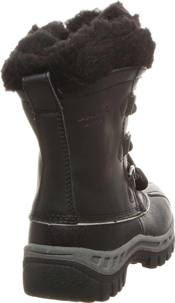 Girls' Bearpaw Kelly Youth Boot, Black/Grey, large, image 4