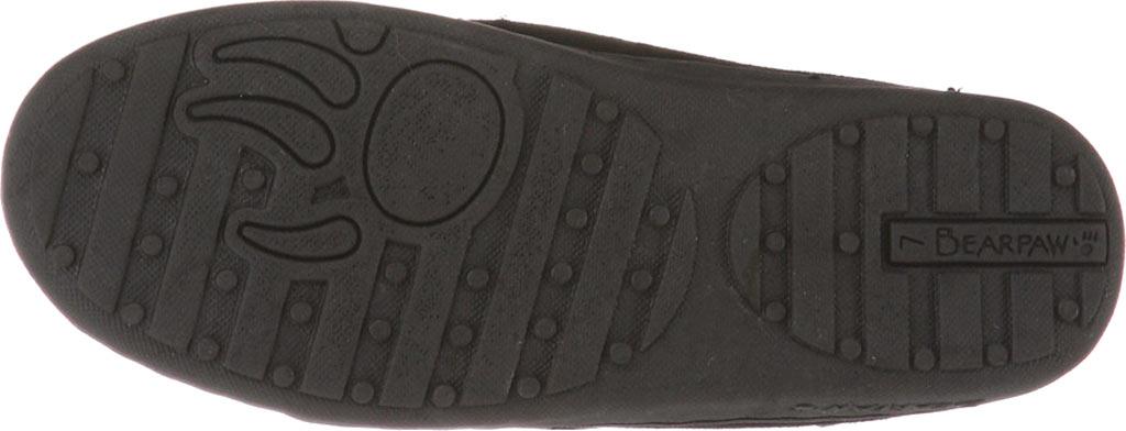 Women's Bearpaw Mindy Moccasin Slipper, Black II, large, image 4