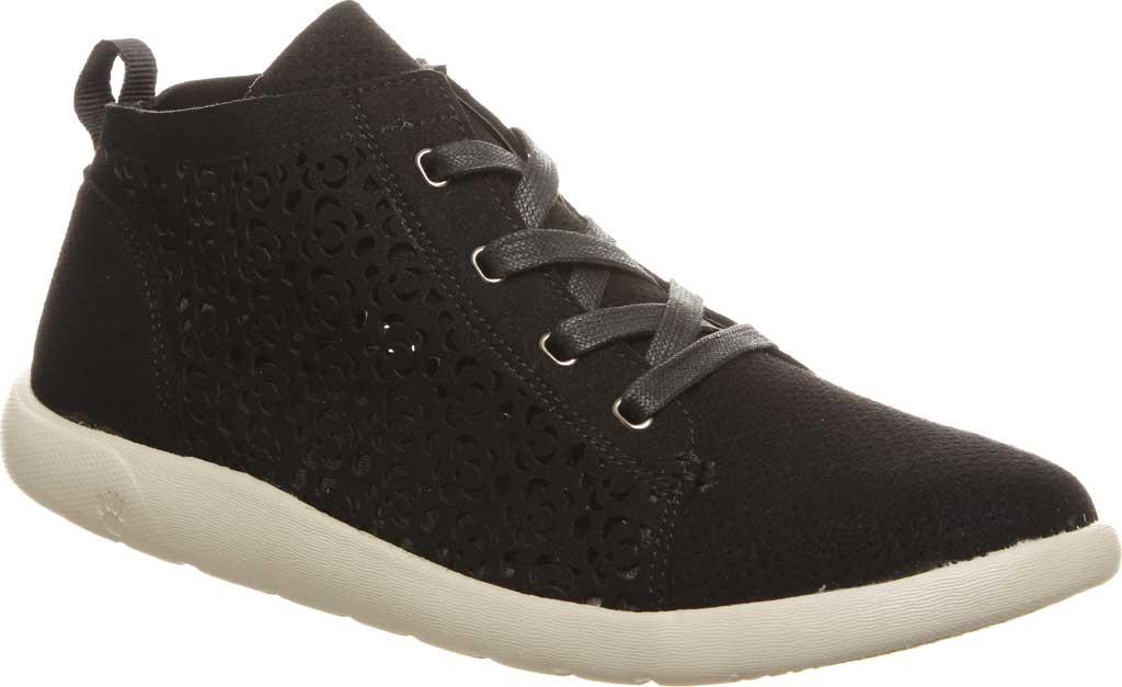 Women's Bearpaw Savannah High Top Sneaker, Black II Microsuede, large, image 1