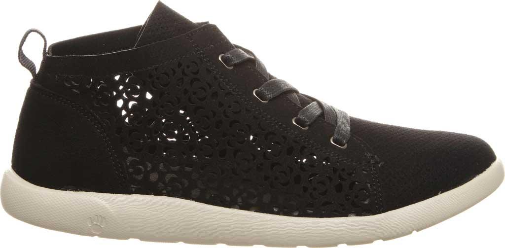 Women's Bearpaw Savannah High Top Sneaker, Black II Microsuede, large, image 2