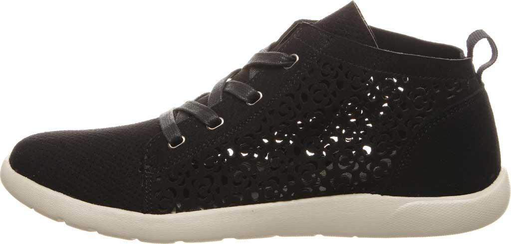 Women's Bearpaw Savannah High Top Sneaker, Black II Microsuede, large, image 3
