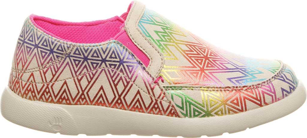 Girls' Bearpaw Sunny Slip-On Sneaker, Linen Microsuede, large, image 2