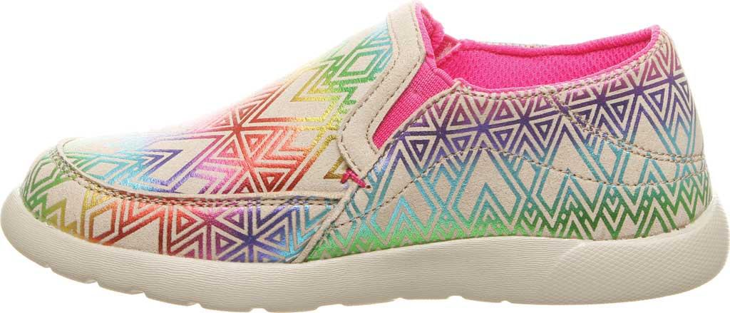 Girls' Bearpaw Sunny Slip-On Sneaker, Linen Microsuede, large, image 3