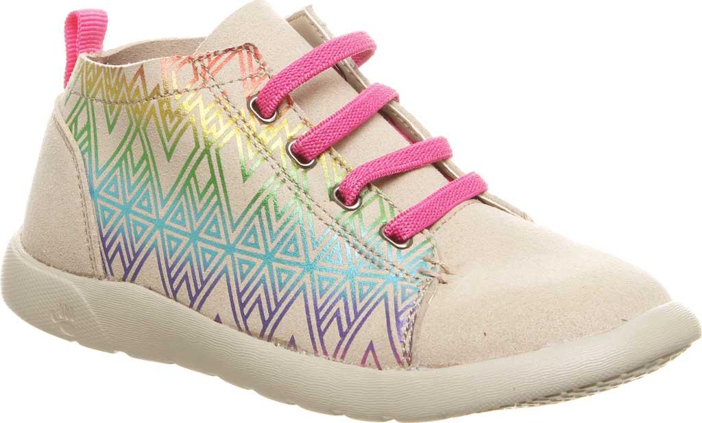 Girls' Bearpaw Gracie High Top Sneaker, Linen Microsuede, large, image 1