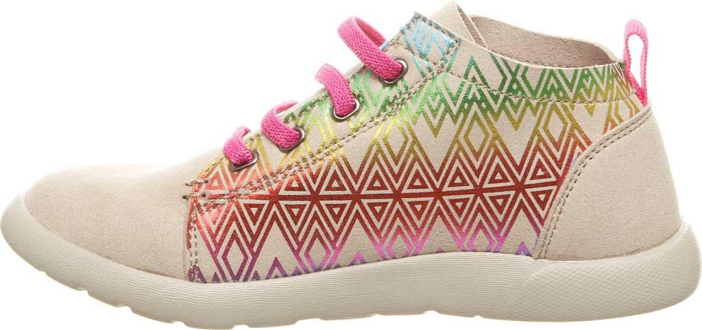 Girls' Bearpaw Gracie High Top Sneaker, Linen Microsuede, large, image 3