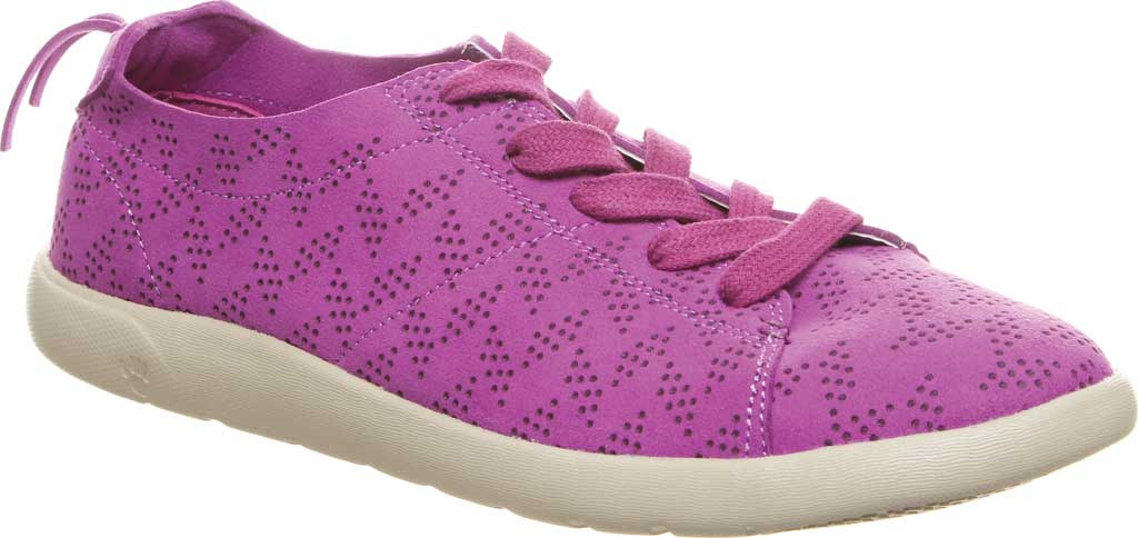 Women's Bearpaw Summer Sneaker, Orchid Microsuede, large, image 1